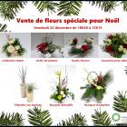 Publicité vente de fleurs